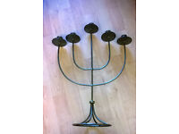 iron mission candle holder