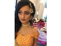 Asian bridal party makeup artist