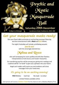 Psychic and Mystic Masquerade Ball