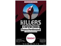 3 Tickets, The Killers - TRNSMT - Sun 8th July