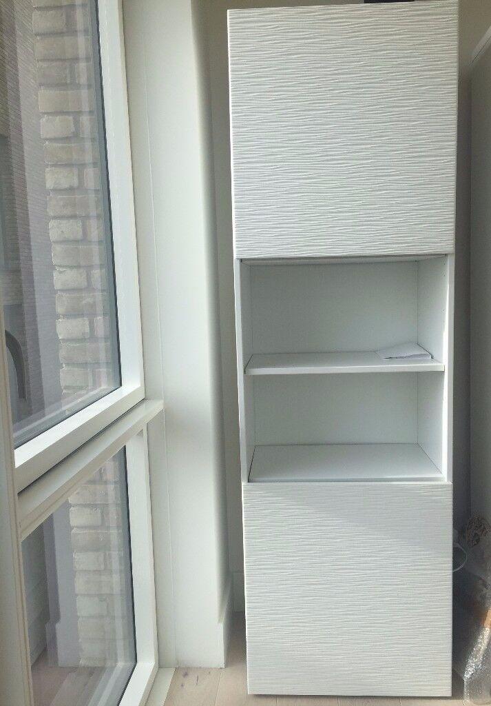 Ikea Besta Cupboard With Laxviken Doors In London Gumtree