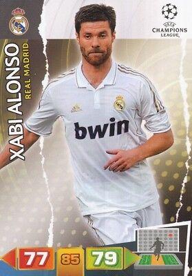 XABI ALONSO ESPANA REAL MADRID CARD ADRENALYN CHAMPIONS LEAGUE 2012 PANINI