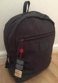 Brand new with tags. Men's True Religion dark grey medium size backpack. Authentic. RRP £160