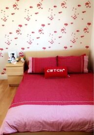 Double bed and bedisde for sale