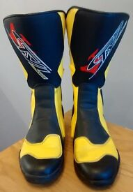 Stylemartin Motorcycle Boots - size 8