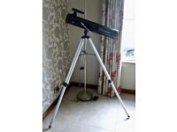 Brand New Celestron Powerseeker 76AZ Telescope, Tripod & Accessories