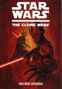 Star Wars Clone Wars  The Sith Hunters     Graphic Novel   NEW
