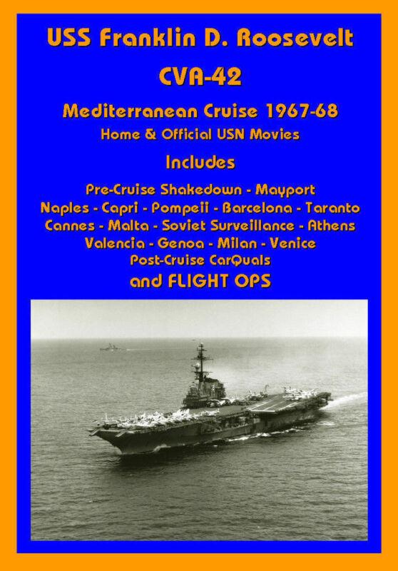 USS FRANKLIN D ROOSEVELT CVA-42 67-68 MED CRUISE VIDEO