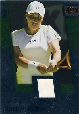 2007 Ace Authentic Svetlana Kuznetsova Jersey Material  Jc10