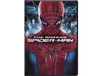 The Amazing Spider-Man DVD Emma Stone, Andrew Garfield 2012 NEW 12+