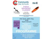 Indoor Kayaking Classes - Madras College Community Use