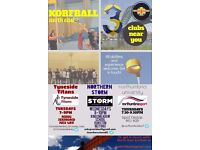 Korfball...new year, new sport? 3 clubs in Newcastle/Gateshead looking for new members