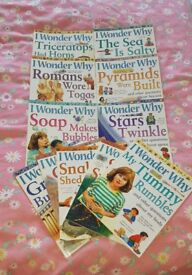 I Wonder Why educational book series