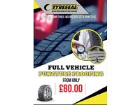 Puncture proofing FROM ONLY £80