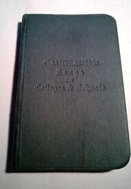 gaudeamus songs for colleges & schools 1900
