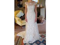 Maggie Sottero 'Nanette' wedding dress unworn sample sale size 8/10
