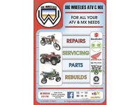 Big wheelies atv motocross repairs parts rebuilds rebuild kits rm cr kx yx crf kxf sx sxf rm rmz