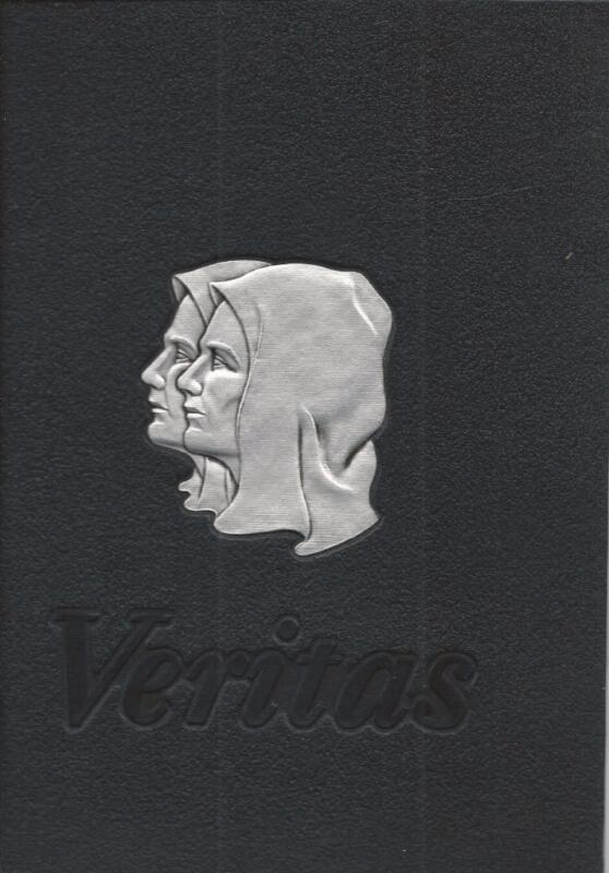 1963 PROVIDENCE COLLEGE YEARBOOK, THE VERITAS, PROVIDENCE, RHODE ISLAND