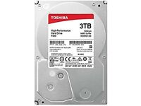 Toshiba 3tb hardrives new and working 8 sale