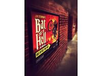 2 x tickets (Stalls) for Bat out of Hell the musical on 23rd June at London Coliseum.