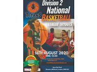 Greenwich Titans Men's Basketball Trials (Divsion 2 National League)