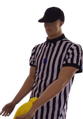 Mens Ref Referee Sports Football Soccer Basketball Halloween Purim Costume M NEW