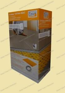 Schluter Systems Ditra Heat Floor Heating Kit DHEKRT12040 / DHEKRT12056, DHEKRTW12040 / DHEKRTW12056