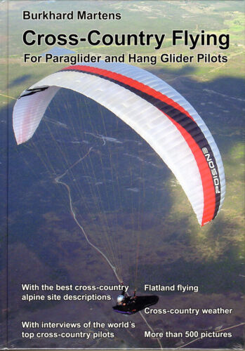 Book: Cross-Country Flying by Burkhard Martens for Paragliders and Hang Gliders