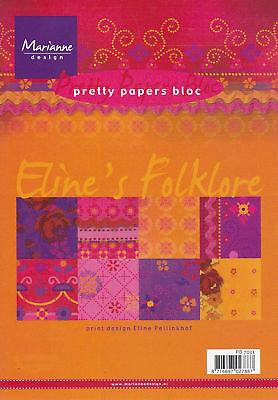 Motivpapier-Pretty Papers-Eline`s Folklore-PB 7033