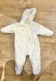 Baby grow sleep suit