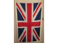 Five Union Jack Flags 5ft x 3ftNew in Bags