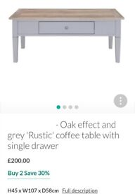 Coffee Table - brand new