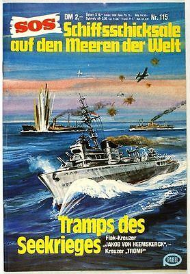 SOS Schiffsschicksale auf den Meeren der Welt Band 115 in Z1-2 Pabel