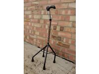 walking stick with 4 legs