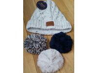 Women's Woollen Bobble Hat