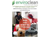 Amazing offers for Christmas for carpet cleaning