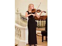 Violin/Piano/Music Theory teacher & piano accompanist-Royal Academy of Music & Oxford Uni Graduate