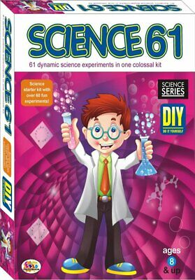 Science-61 Kit Over 60 Exciting And Fascinating Experiment! Best For
