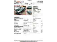 MINI COOPER D Hatchback 3 Door 1560cc