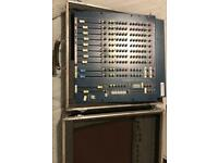 Allen and Heath WZ 12:2 mixer with Dual FX in flight case