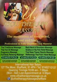 U Thai Therapy Massage, the best Thai massage in Sheffield Thai, Loving and Care (TLC)