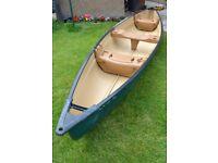 Colman Explorer 166 Canadian Canoe for sale.