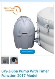 Lay z spa Paris heater pump. New model.
