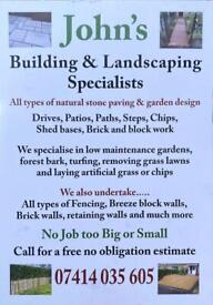 John's Building and Landscaping Specialist
