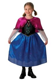 New in packs frozen anna deluxe costume age 6 to 8