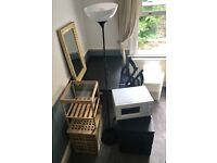 Furniture package table,chairs,bedside tables,coffee table,lamp,mirror,microwave-ideal for student