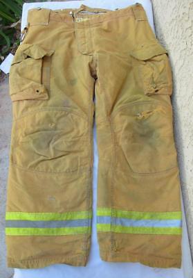 Lion Janesville Firefighter Fireman Turnout Gear Pants Size 40l - E1