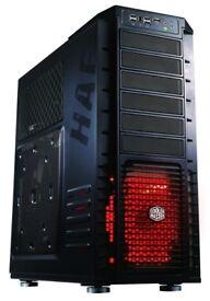 Coolermaster HAF932 PC Case (Used) + 2 DVD Drives