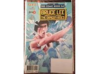 Bruce Lee the Dragon Rises Comics Issue 0,1 & 2