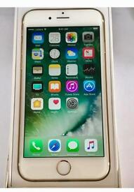 Apple iPhone 6 ( 16GB ) Gold Superb Condition, 02 Network / GiffGaff / Tesco